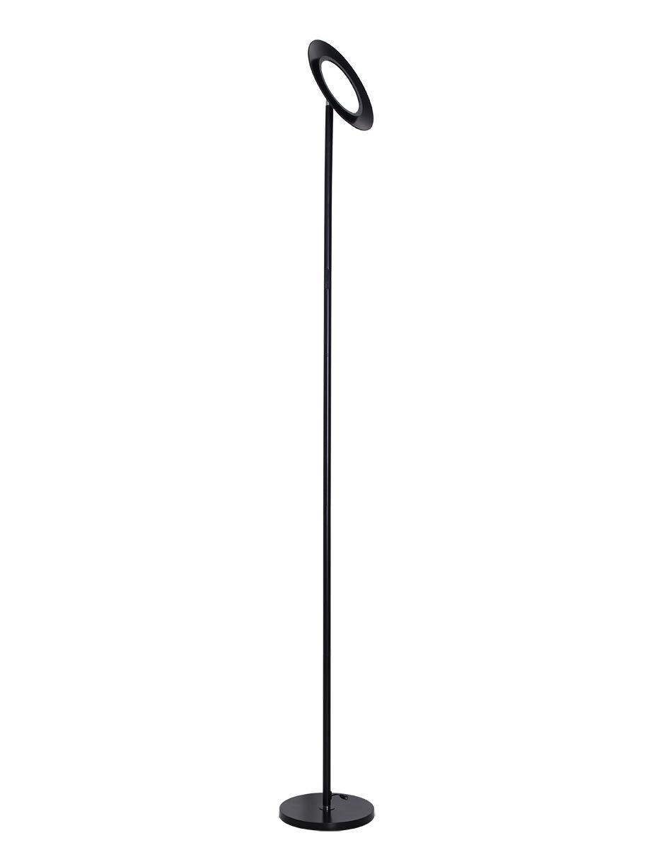 HaloOptronics Rocket 1933 COMBO Lampadaire LED 10W /équivaut /à 100W Variation Tactile de Luminosit/é et de Couleur Tout En Aluminium Multi-Position