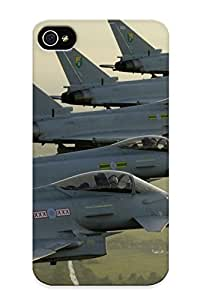 New Style Standinmyside Hard Case Cover For Iphone 4/4s- Eurofighter Typhoon