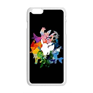 GKCB Creative Watercolor Animal Pattern Fahionable And Popular Back Case Cover For Iphone 6 Plus