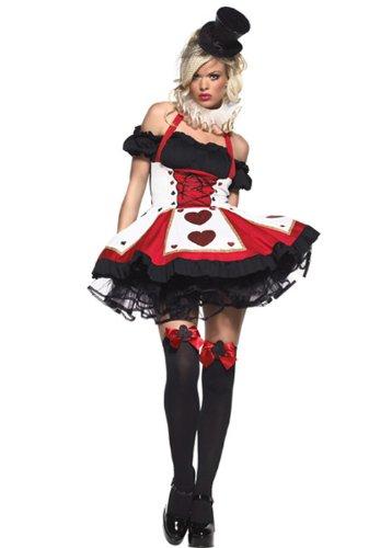promozione speciale primo sguardo ultima collezione Carta da gioco gotico Sexy Costume di Halloween XL (UK 14-16 ...