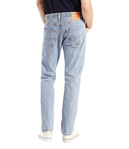 Fit Levi's Stonewash Jeans 501 light Hombre Para Original Blue xx1pgwC