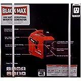 Black Max 900W / 1000W Digital Inverter Generator - Gas Powered