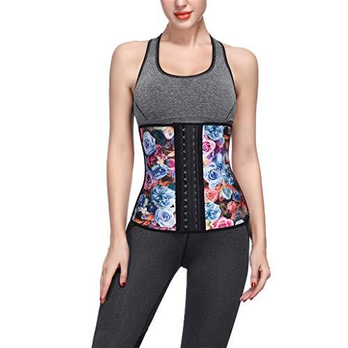 Allywit Women Petite Steel Boned Waist Trainer Underbust Corset Short Torso Mesh Body Shaper by Allywit (Image #2)
