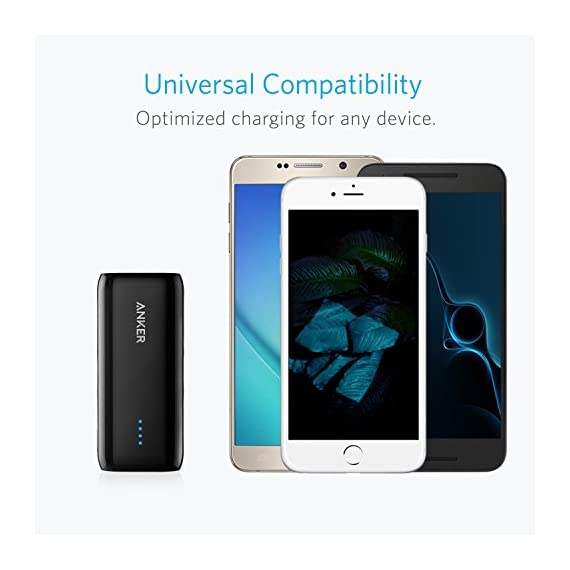 Anker Astro E1 5200mAh Candy bar-Sized Ultra Compact Portable Charger (External Battery Power Bank) with High-Speed Charging PowerIQ Technology 8