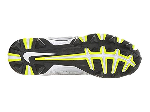 Black 2 Nike Cleat Keystone Baseball Vapor White Men's Wide Hxf0PUH