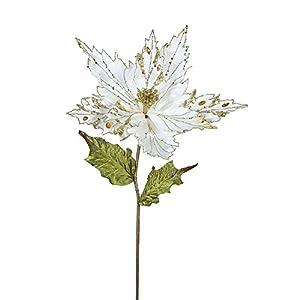 Vickerman Poinsettia Flower Stem 51