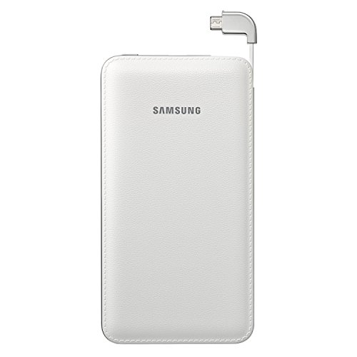 Samsung Galaxy BP6000 Battery Pack 6000mAh Micro -White