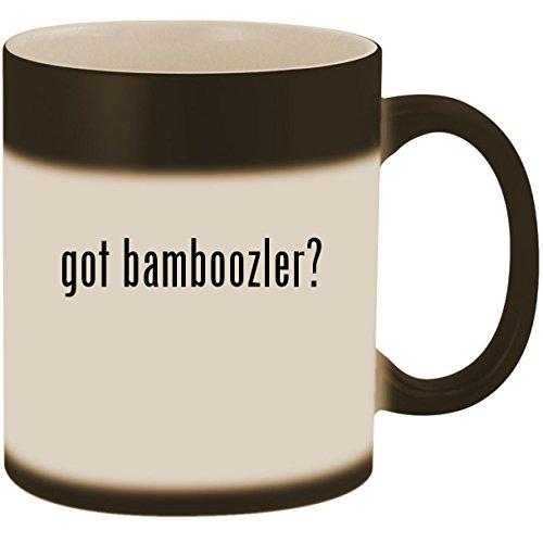 got bamboozler? - 11oz Ceramic Color Changing Heat Sensitive
