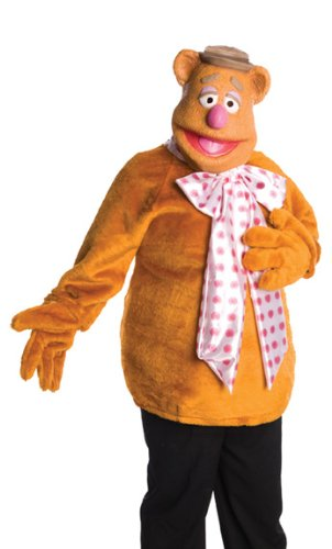 The Muppets Fozzie Bear Costume With Mask, Brown, One Size]()