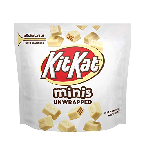 White Creme Candy Minis Pouch