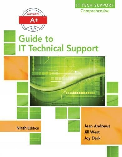 A+ Guide to IT Technical Support (Hardware and Software) cover