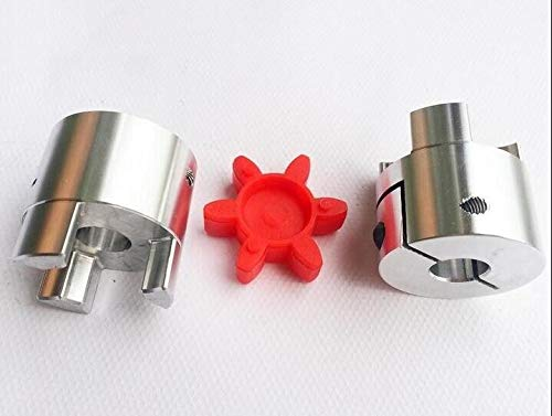 Fevas 2PCS 5mm to 8mm Shaft Coupling Flexible Coupler Connector