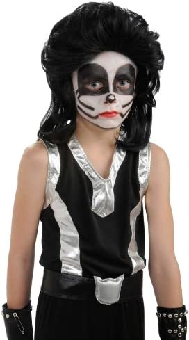 Peluca de Catman Kiss infantil: Amazon.es: Juguetes y juegos