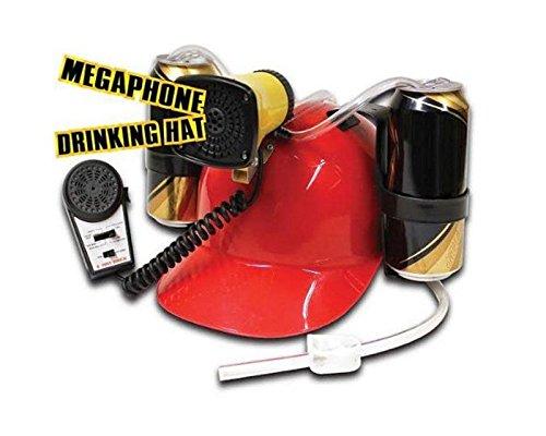 Megaphon Trinkhelm/Bierhelm mit 6 verschiedenen Sounds