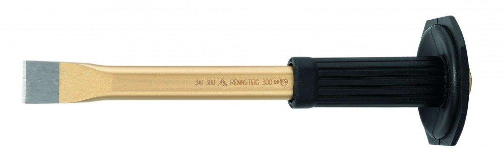 Rennsteig 341 300 0 pulido –  Cincel de albañ il con (5 mm), oro, 300 mm 300mm 341 300 0