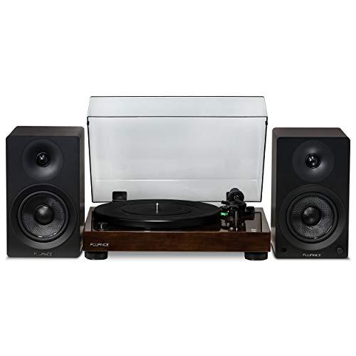 Fluance Elite High Fidelity Vinyl Turntable - Diamond Stylus, Belt Drive, Built-in Preamp with Ai40 5