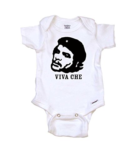 Viva Che Baby Onesie Organic, 0-3 mo, Organic White