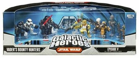 Star Wars Galactic Heros Episode V The Empire Strikes Back: Vaders Bounty (Galactic Heroes Bounty Hunters)