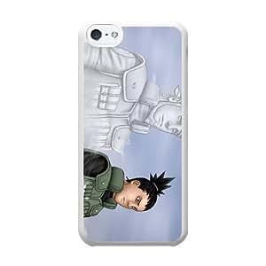 Nara Shikamaru S6L2RY2U Caso funda iPhone 5c Caso funda del teléfono celular blanco