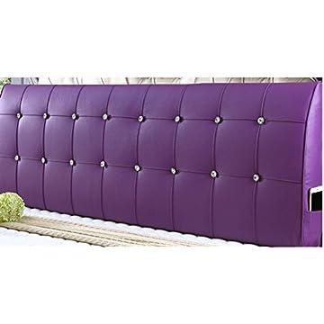 Image of Home and Kitchen AIDELAI Backrest- Bedside Cushion Cushion Back Bedding Cushion Double Bedside Triangle Cushion Bedside Soft Bag Cushion Bedside Cushion Cushion