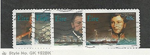 2003 Ships - Ireland, Postage Stamp, 1506-1509 Used, 2003 Ships