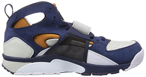 Nike Air Trainer Huarache Premium, Sneaker Uomo Multicolore (Mehrfarbig (Light Bone/Mid Navy-gngr-white 001))