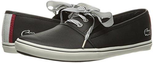Lacoste Women's Fabian 416 1 Caw Fashion Sneaker, Black, 7 M US