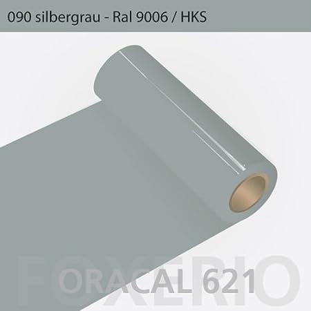 Your Design Klebefolien für Küchenfronten - Oracal 621-63cm Rolle - 10m  (Laufmeter) - Silbergrau, A6oracal-621-10m-63cm-39-kl