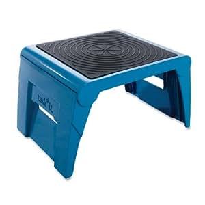 Cramer Task*it 50051PK-63 1UP Folding Step Stool, Blue