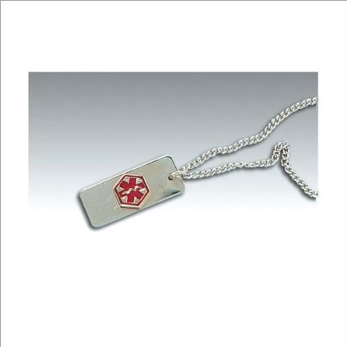 Medical Identification Jewelry-Necklace- Drug Allergy