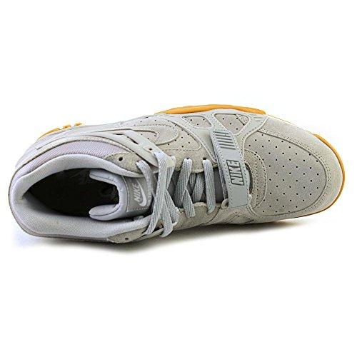 Nike Air Formateur 3 Loup Gris / Blanc-gomme Daim Marron Clair
