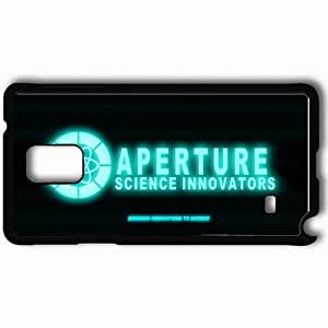 Personalized Samsung Note 4 Cell phone Case/Cover Skin Aperture Logo Hd Old Terminal Black