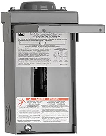 square d by schneider electric hom24l70rbcp homeline 70-amp 2-space 4- circuit