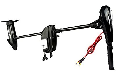 "Newport Vessels X-Series 55 lb. Thrust Saltwater Transom Mounted Electric Trolling Motor with 36"" Shaft"