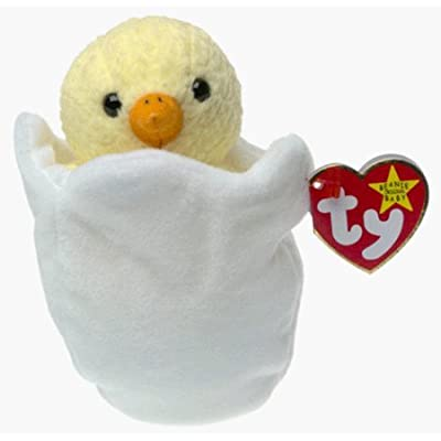 5Star-TD Eggbert The Chick Beanie Baby: Toys & Games
