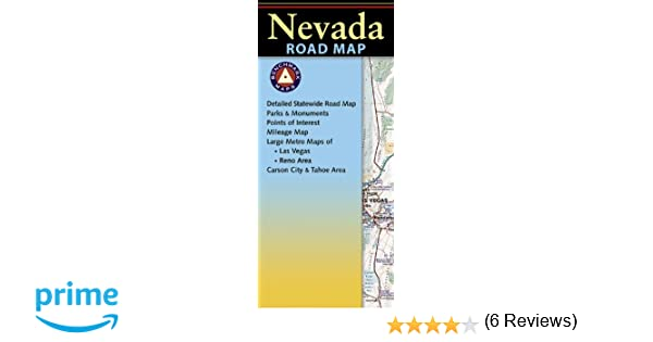 Nevada road map benchmark maps nevada benchmark maps firm nevada road map benchmark maps nevada benchmark maps firm 9780783499000 amazon books sciox Images