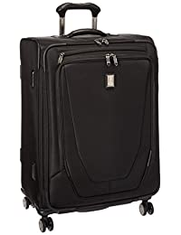 """Travelpro Crew 11 25"""" Expandable Spinner Suitcases, Black"""