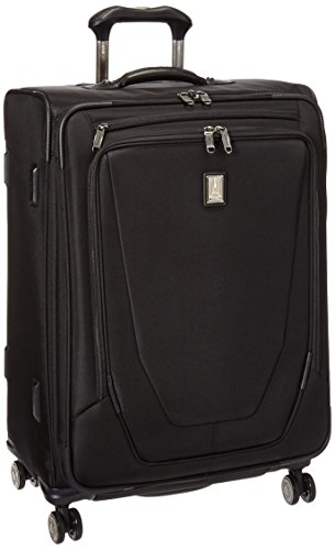 Travelpro Crew 11 25'' Expandable Spinner, Black by Travelpro