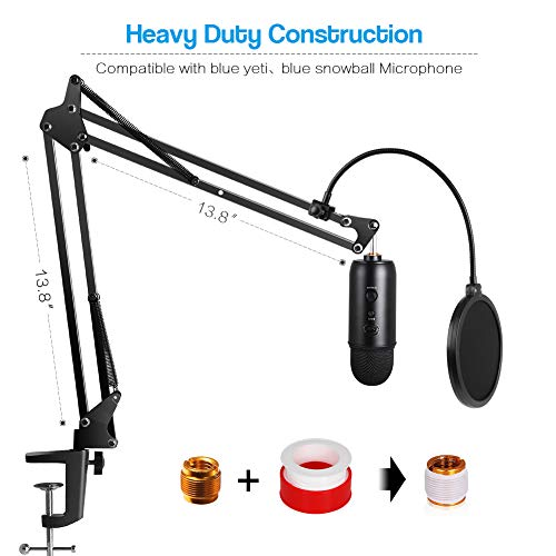 Innogear Heavy Duty Microphone Stand With Mic Microphone