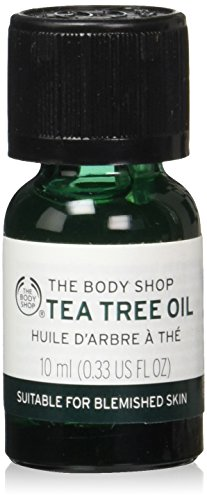 The Body Shop Tea Tree Oil, for Blemish-Prone Skin, 100% Vegan, 0.34 fl. oz.