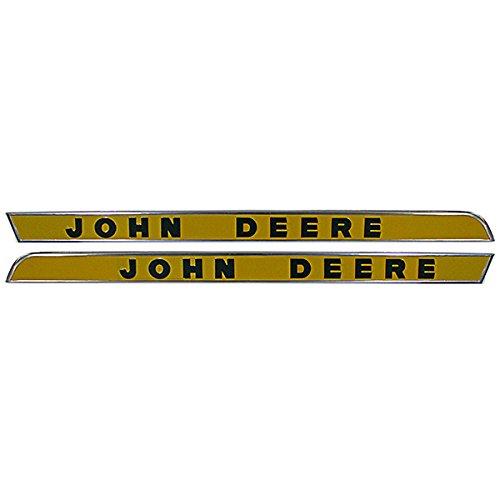 John Deere Raised Letter Side Moulding Set