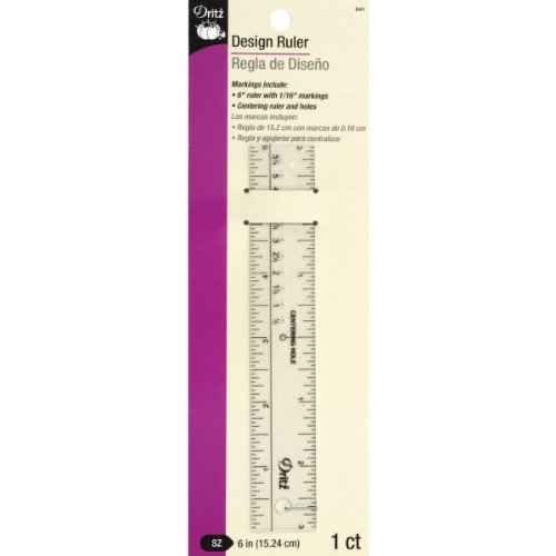 Dritz 841 Design Ruler, 6
