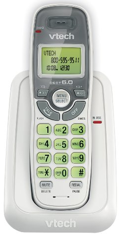 vtech-dect-60-single-handset-cordless-phone-with-caller-id-green-backlit-keypad-and-display