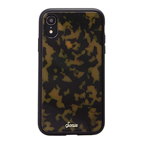 Sonix Brown Tort (Tortoiseshell) Cell Phone Case [Military Drop Test Certified] Tortoise Shell Series for Apple iPhone XR