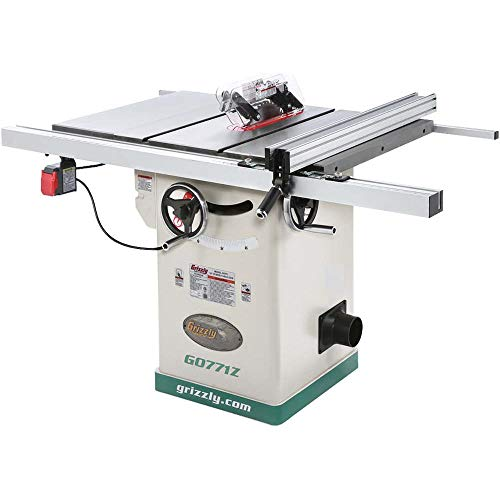 Grizzly Industrial G0771Z – 10″ 2 HP 120V Hybrid Table Saw with T-Shaped Fence