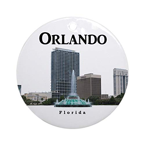 CafePress Orlando Ornament (Round) Round Holiday Christmas Ornament