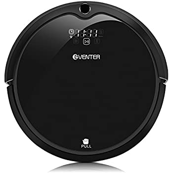 Robins Robot Robotic Vacuum Cleaner for Pet Fur Allergens, Low-Pile Carpet, Hardwood