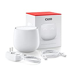 CUJO Smart Internet Security Firewall (180-Day Free Security Service Included) - Protects Your Network from Viruses and Hacking / For Home & Business / iOS & Android App / Plug into Your Router