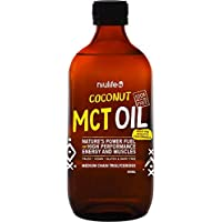 Niulife Nature's Power Fuel Coconut MCT Oil 500 ml, 500 ml