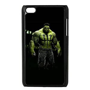 iPod Touch 4 Case Black Hulk Personalized Plastic Case RTO